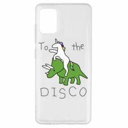 Чохол для Samsung A51 To the disco