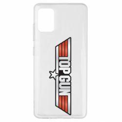 Чохол для Samsung A51 Top Gun Logo
