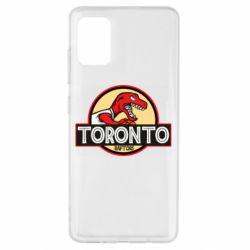 Чехол для Samsung A51 Toronto raptors park