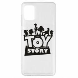 Чехол для Samsung A51 Toy Story and heroes