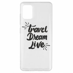 Чехол для Samsung A51 Travel Dream Live