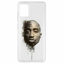 Чехол для Samsung A51 Tupac Shakur