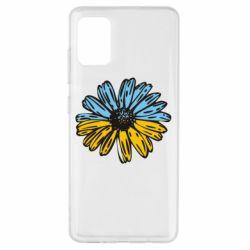Чехол для Samsung A51 Українська квітка
