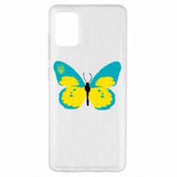 Чохол для Samsung A51 Український метелик