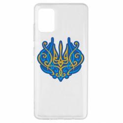 Чохол для Samsung A51 Український тризуб монограма