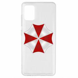 Чохол для Samsung A51 Umbrella Corp Logo