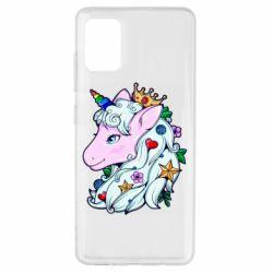 Чохол для Samsung A51 Unicorn Princess