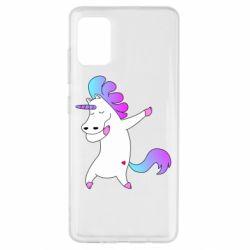 Чехол для Samsung A51 Unicorn swag