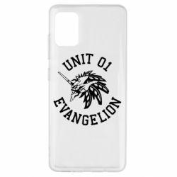 Чохол для Samsung A51 Unit 01 evangelion