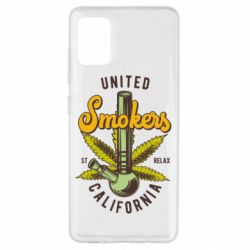 Чохол для Samsung A51 United smokers st relax California