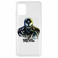 Чехол для Samsung A51 Venom Bust Art