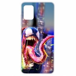 Чехол для Samsung A51 Venom slime