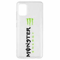 Чохол для Samsung A51 Вертикальний Monster Energy