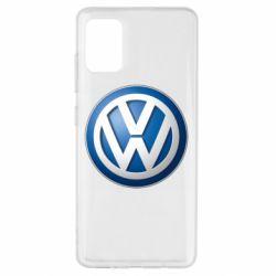 Чохол для Samsung A51 Volkswagen 3D Logo