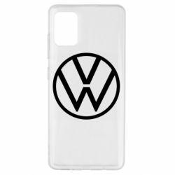 Чехол для Samsung A51 Volkswagen new logo