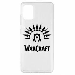 Чехол для Samsung A51 WarCraft Logo