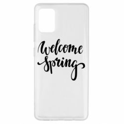 Чохол для Samsung A51 Welcome spring