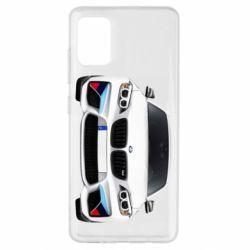 Чохол для Samsung A51 White bmw