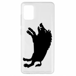 Чохол для Samsung A51 Wild boar