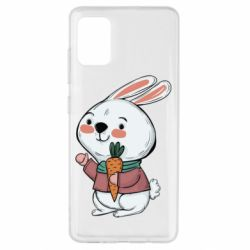 Чохол для Samsung A51 Winter bunny