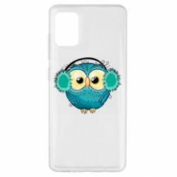 Чехол для Samsung A51 Winter owl