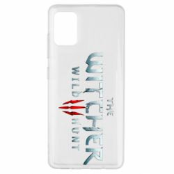 Чехол для Samsung A51 Witcher Logo