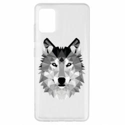 Чохол для Samsung A51 Wolf Art