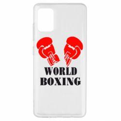 Чехол для Samsung A51 World Boxing