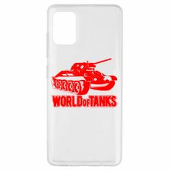 Чохол для Samsung A51 World Of Tanks Game