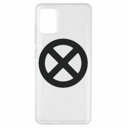 Чохол для Samsung A51 X-man logo