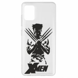 Чехол для Samsung A51 X men: Logan