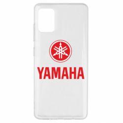 Чехол для Samsung A51 Yamaha Logo(R+W)