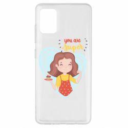 Чохол для Samsung A51 You are super girl