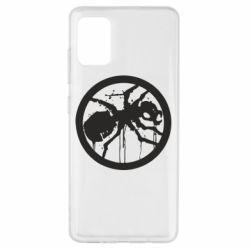 Чехол для Samsung A51 Жирный муравей
