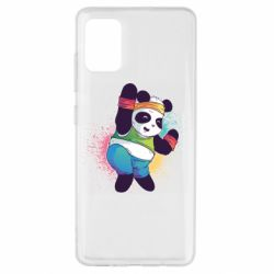 Чохол для Samsung A51 Zumba Panda