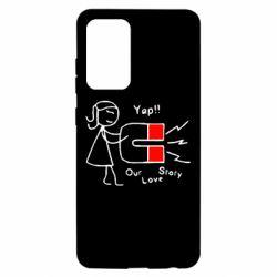Чохол для Samsung A52 5G Our love story2