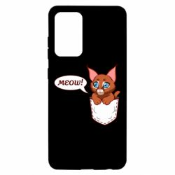 Чохол для Samsung A52 5G A cat in his pocket
