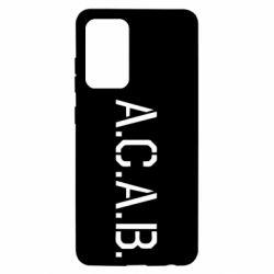 Чохол для Samsung A52 5G A.C.A.B.
