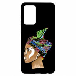 Чохол для Samsung A52 5G African girl in a color scarf