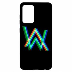 Чохол для Samsung A52 5G Alan Walker multicolored logo
