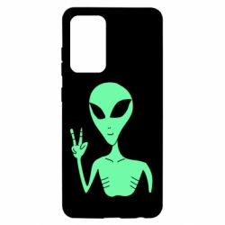 Чохол для Samsung A52 5G Alien and two fingers