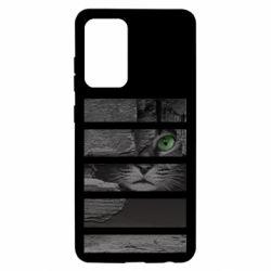 Чехол для Samsung A52 5G All seeing cat