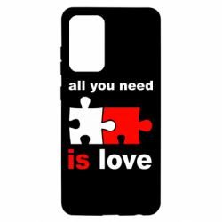 Чохол для Samsung A52 5G All You need is love