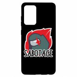 Чохол для Samsung A52 5G Among Us Sabotage