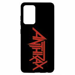 Чохол для Samsung A52 5G Anthrax red logo