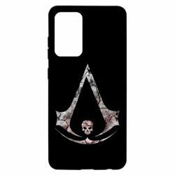 Чехол для Samsung A52 5G Assassins Creed and skull