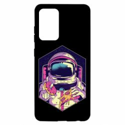 Чохол для Samsung A52 5G Astronaut with donut and pizza