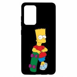 Чохол для Samsung A52 5G Bart Simpson