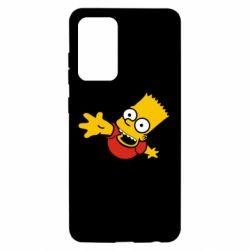 Чехол для Samsung A52 5G Барт Симпсон