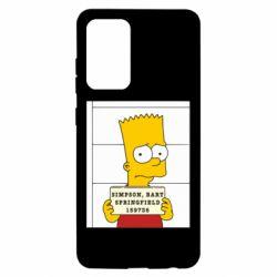 Чехол для Samsung A52 5G Барт в тюряге